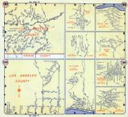 Page 099 and 100, Los Angeles County 1957 Street Atlas